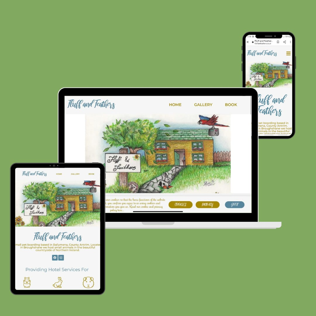 Fluff and Feathers KSM Web Design