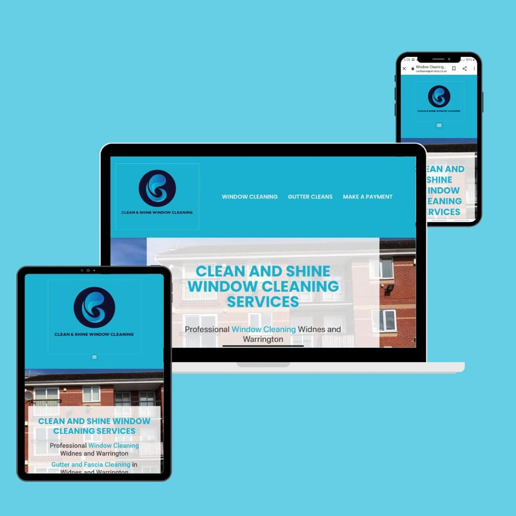 Clean&Shine Affordable Web Design