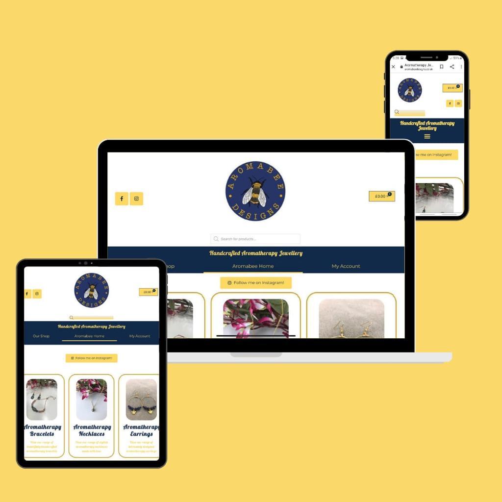 Aromabee Designs KSM Web Design