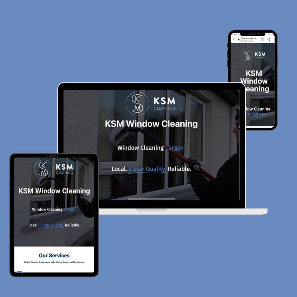 KSM Cleaning Affordable Web Design